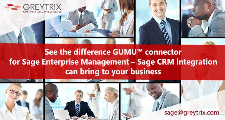 sage enterprise management - sage crm integration