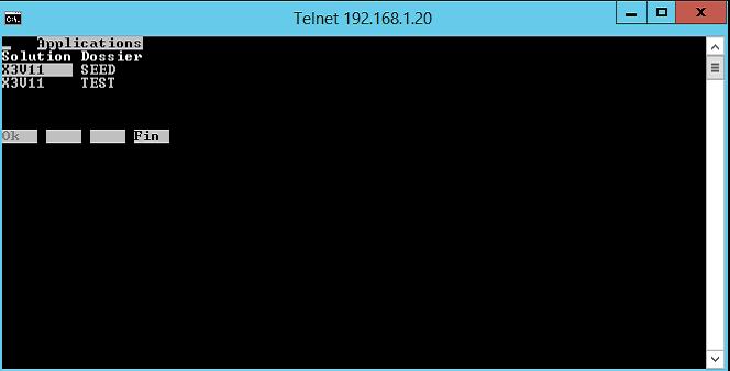 telnet process