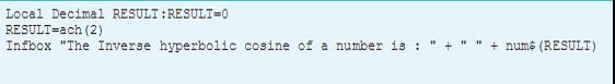 ZRESULT code file