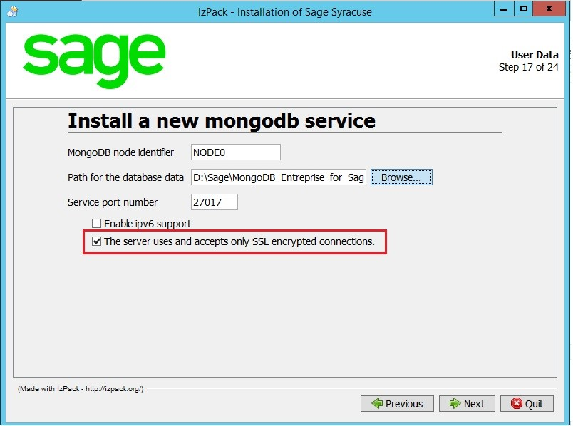 How to secure MongoDb in Sage Enterprise Management – Sage X3 – Tips