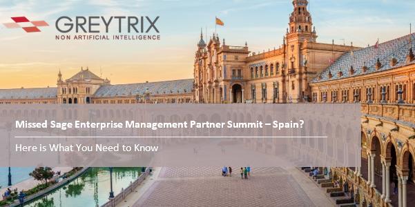 greytrix at sage enterprise management summit spain