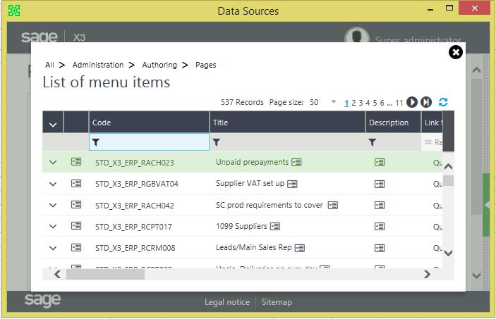 How to link Menu Item to Excel | Sage Enterprise Management – Sage