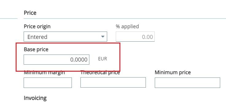 Base Price