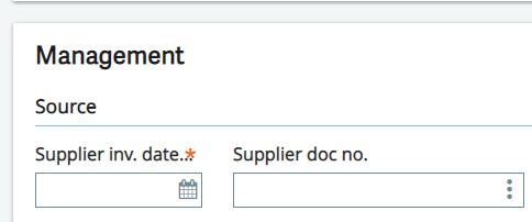 BPRVCR(Supplier doc No.)