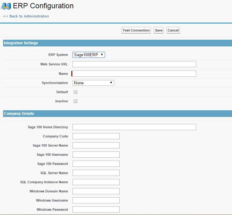 1 ERP Configuration
