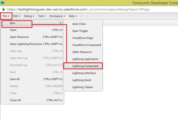 Creating a Lightning Component – Salesforce com-Tips and Tricks by