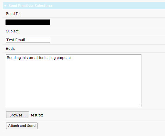 how to send attachment in mail