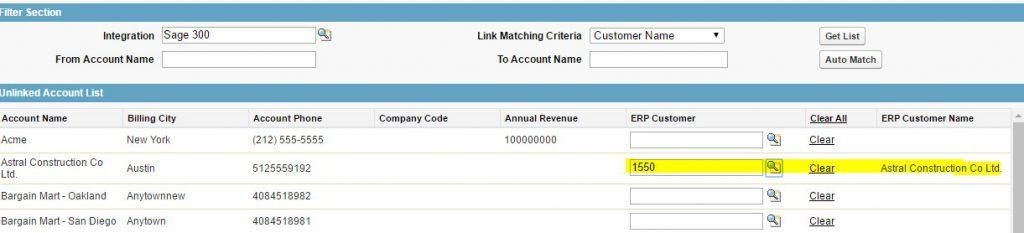 Selected ERP Customer - 300