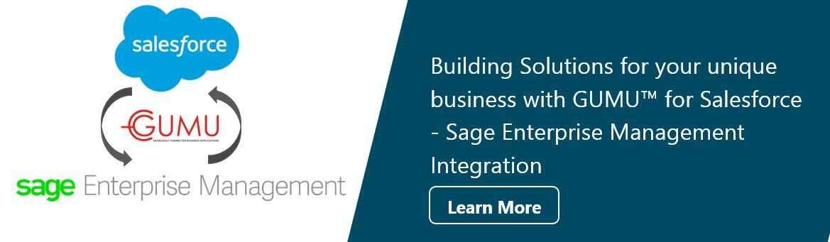 salesforce integration with sage x3