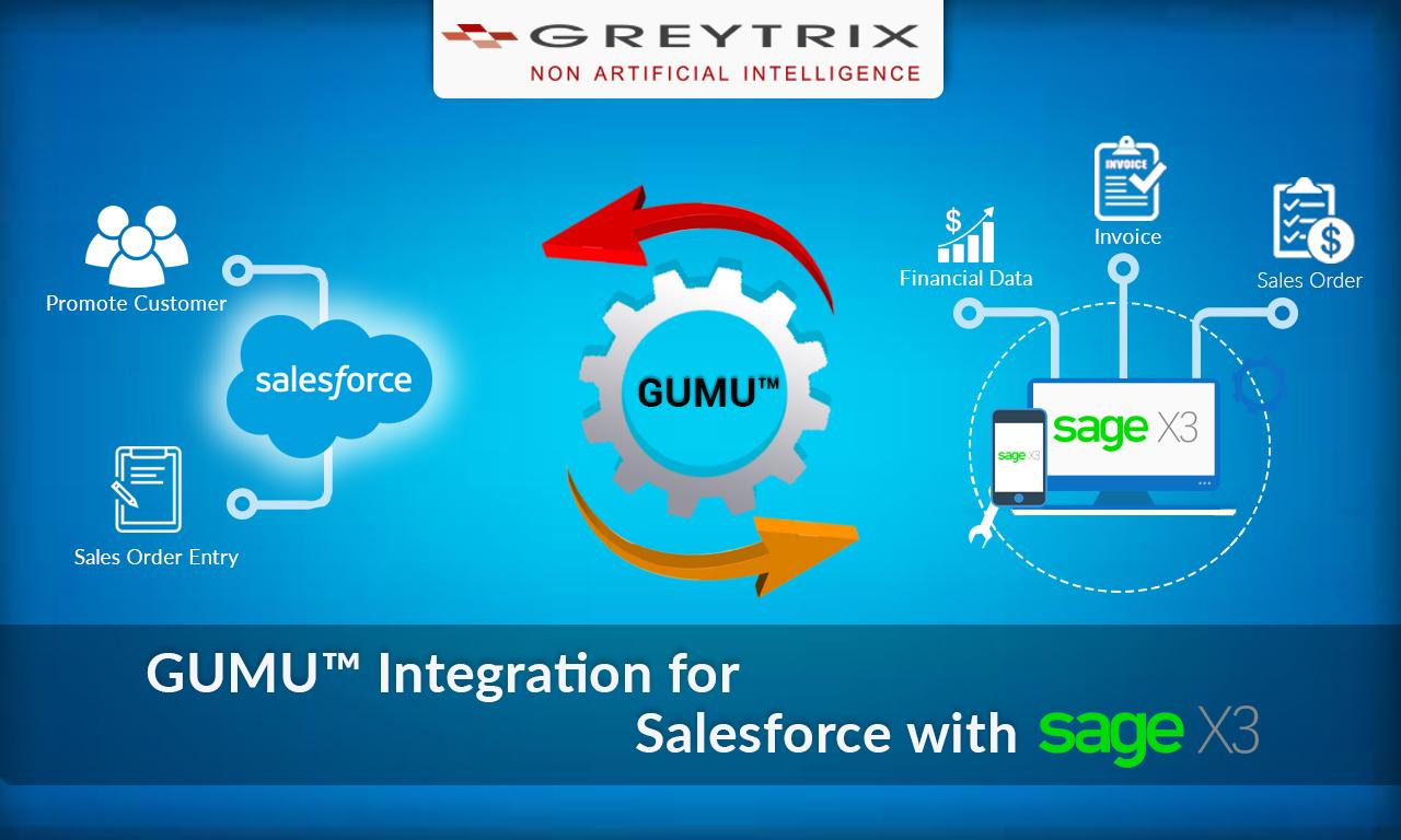 salesforce with sage x3 erp