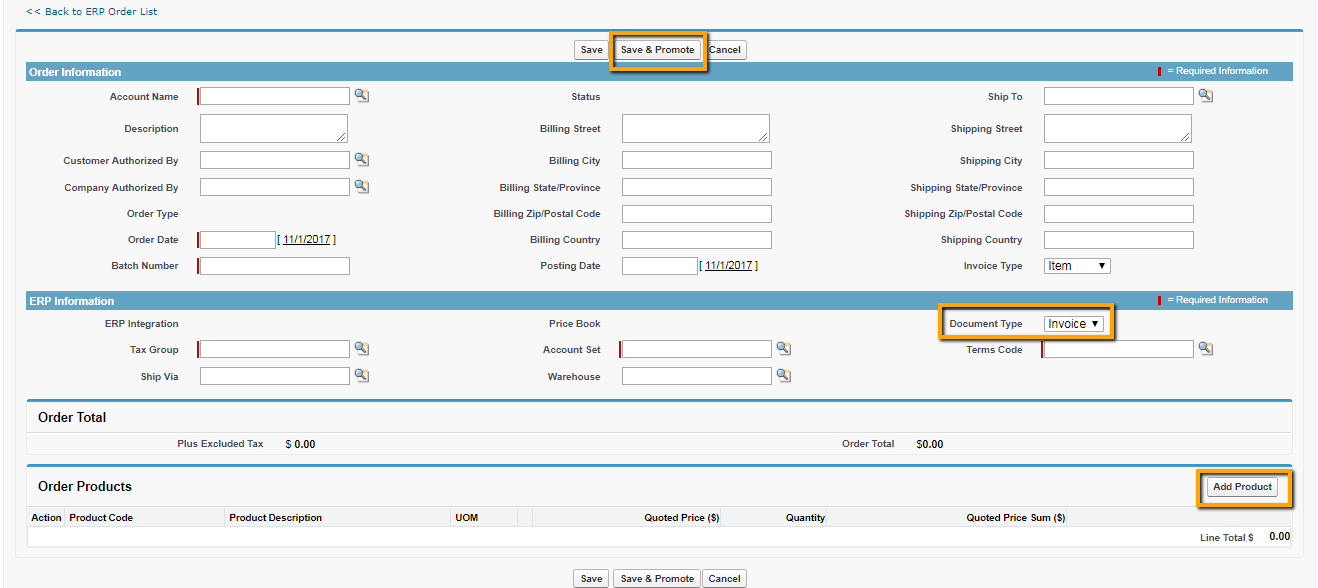 Specific Fields Value for Invoice Promotion