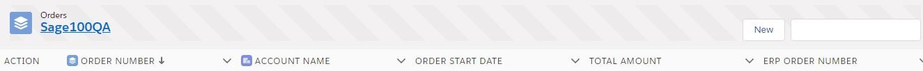 Integration Order List