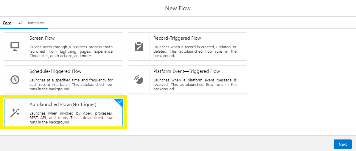 2-Select Flow Type