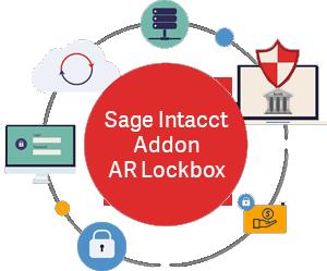 intacct AR lockbox file processing