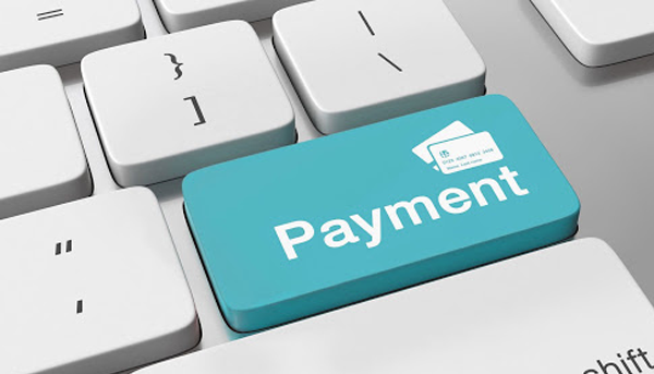 ACH direct check payment