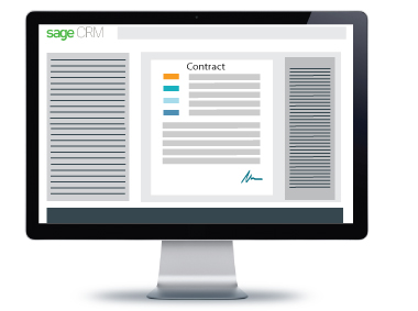 Sage crm contract viewer