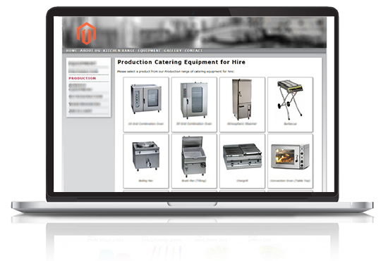 Customer specific product catalogue