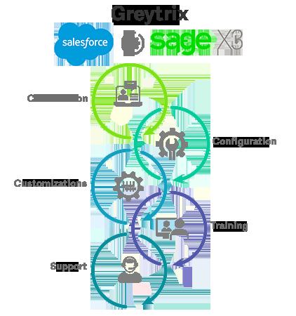 saleforce and sage x3 integration