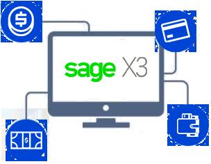 payment gateway integration sage x3