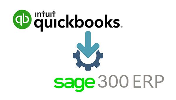 quickbooks to sage 300 migration