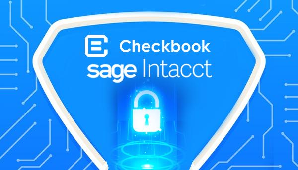 Sage Intacct checkbook integration