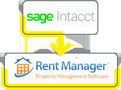 sage intacct rent manager