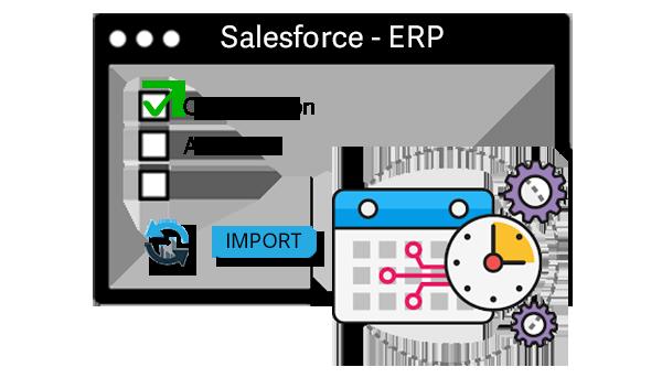 salesforce integration with sage erp