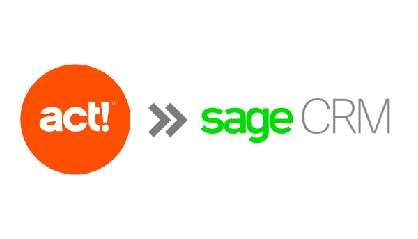 act to sage crm migration
