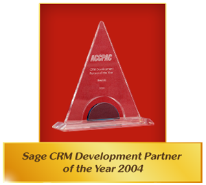 Sage CRM Development Partner 2004