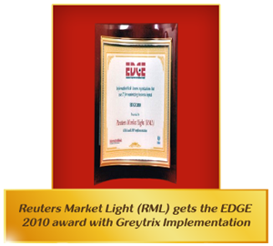 Edge 2010 Award with Greytrix