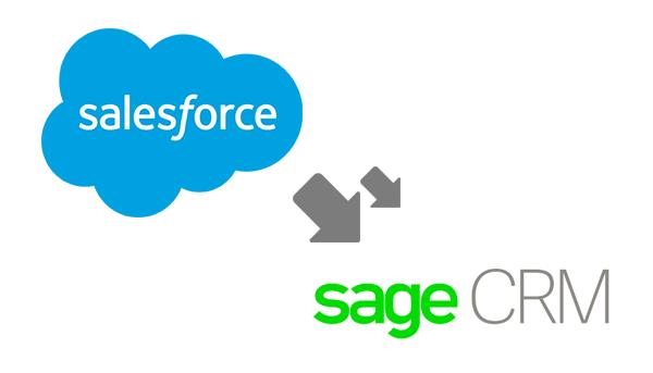 salesforce to sage crm migration
