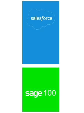 salesforce sage 100 sync